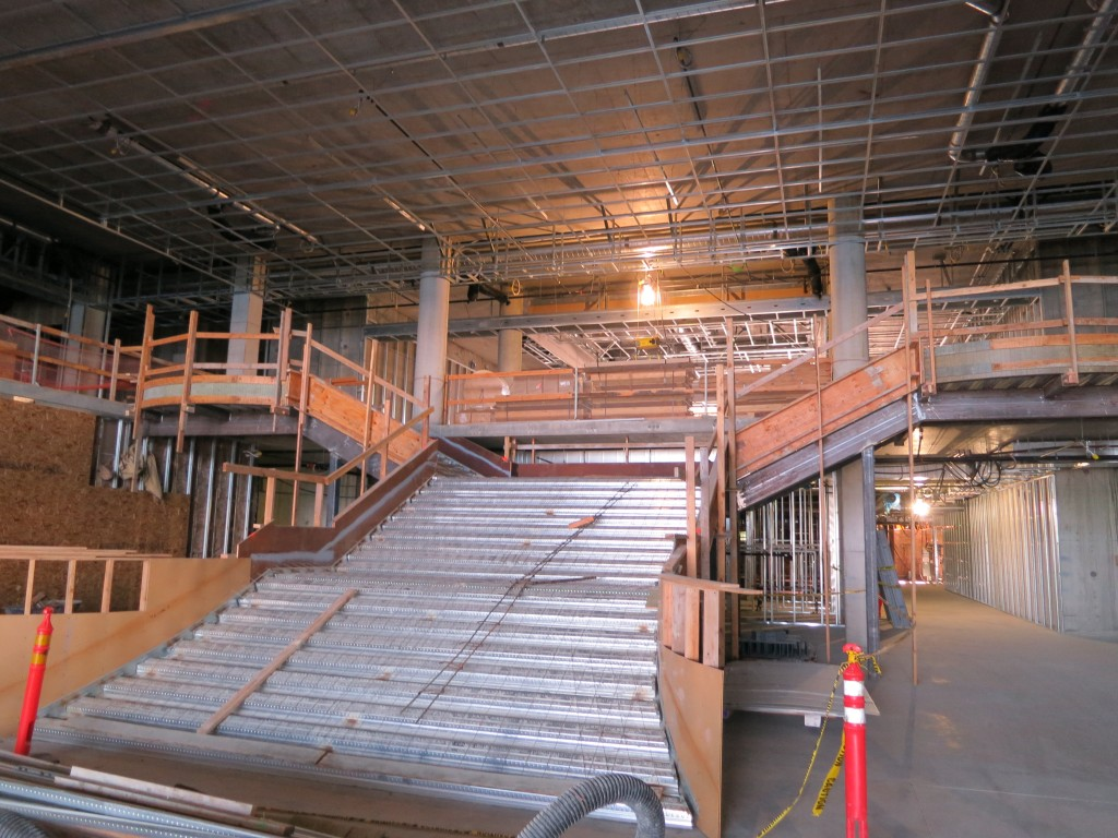 Hotel - Grand Stair Framing