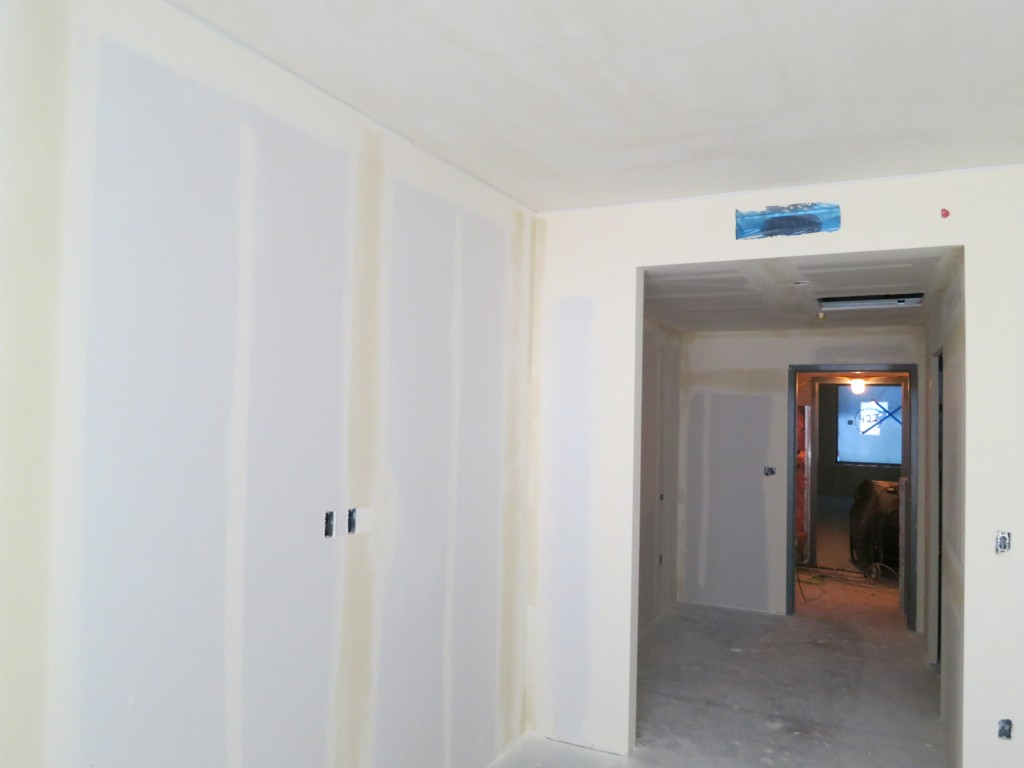 Hotel - Level 4 Wall Board Install