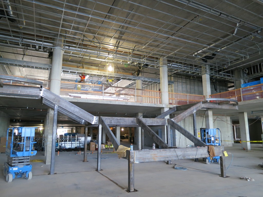 Hotel - steel for grand stair