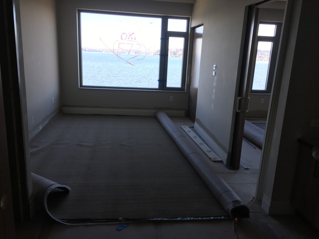 Hotel - Guestroom Carpet Installation