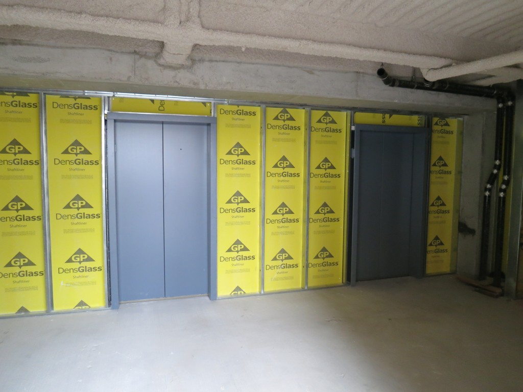 Office - Garage Elevator Fronts