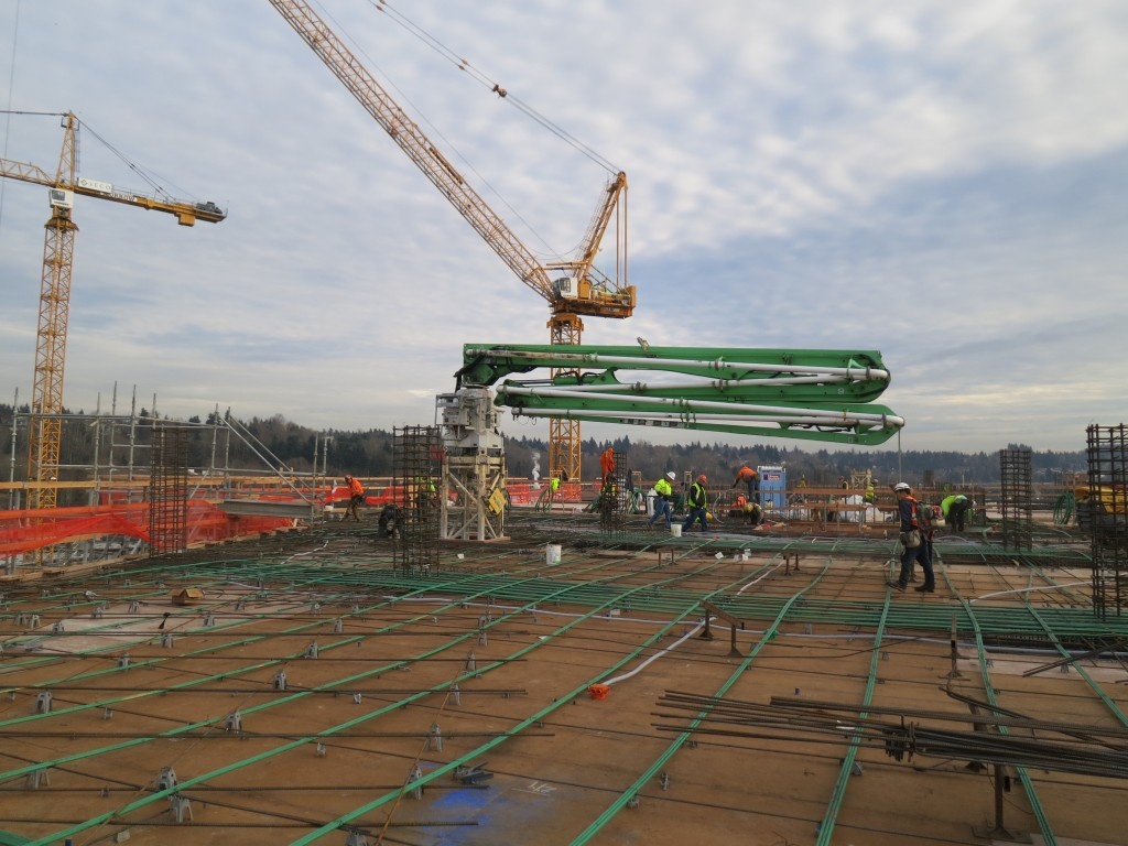 Office - Level 9 Concrete Deck Pour