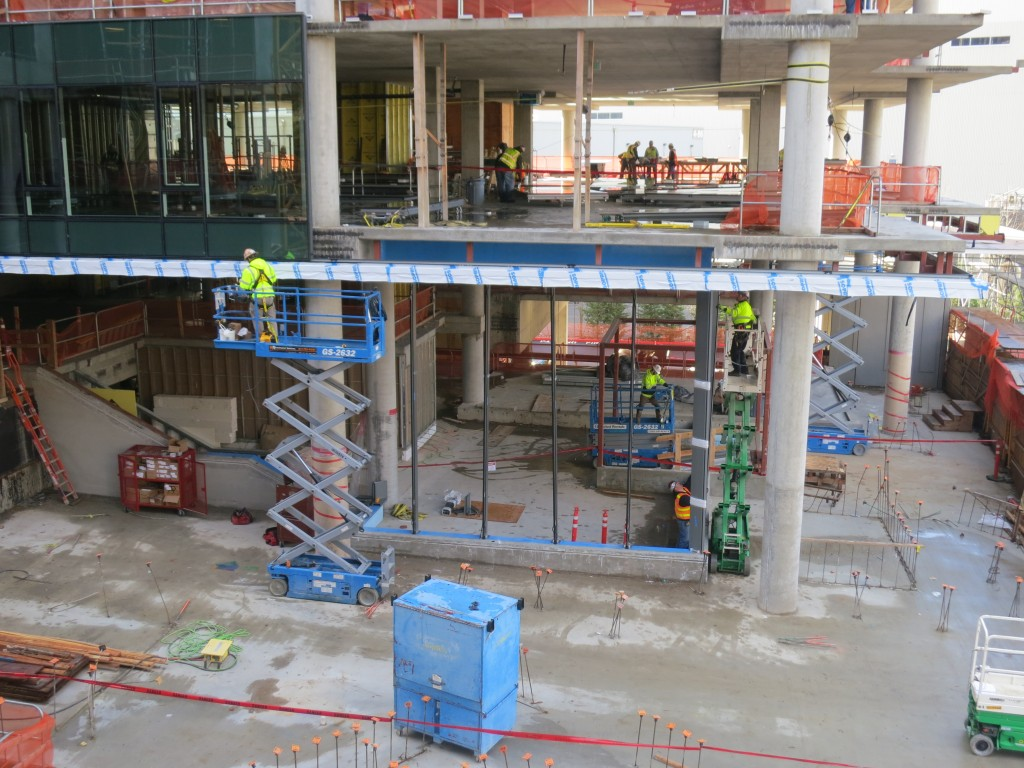 Storefront Install at Retail - Tower 1